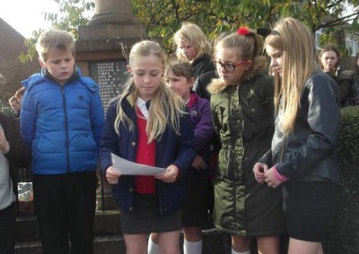 Class 5 – Remembrance Day Memorial