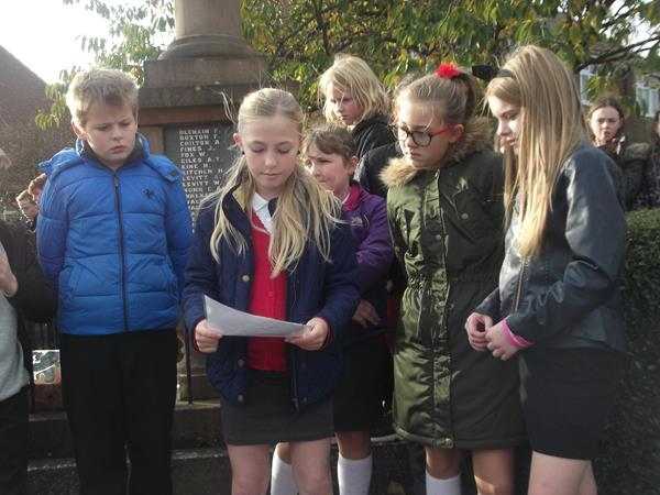 Class 5 - Remembrance Day Memorial  2015 002