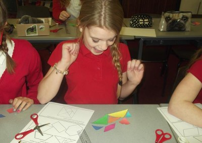 Making a tangram