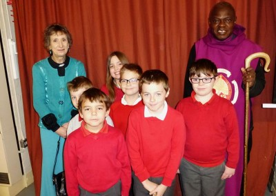 Archbishop Sentamu's visit